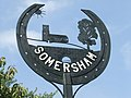 Somersham village sign - geograph.org.uk - 973014.jpg