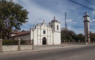 Somoto, Madriz - The Parroquia Santiago in central Somoto.