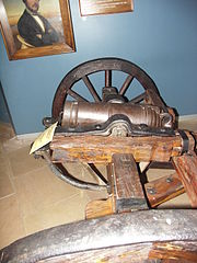 Grietjie, a gun used at the Battle of Blood River now housed at the Voortrekker monument