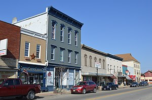 New Carlisle, Ohio - Main Street downtown