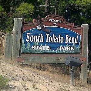 South Toledo Bend State Park - Image: South Toledo Bend State Park Sign