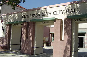 South Pasadena, California - South Pasadena City Hall