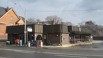 Spadina station - Image: Spadina TTC bus terminal