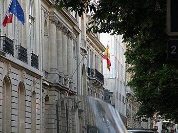 Embajada de espa a en francia wikipedia la enciclopedia - Embaja de espana ...