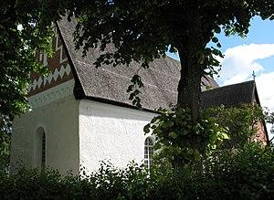 Battle of Sparrsätra - The church of Sparrsätra.