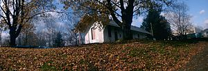 Sparta Township, New Jersey - Image: Sparta Station Panorama