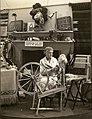 Spinning Demonstration, Crafts Exhibition, 1938. (22706066709).jpg