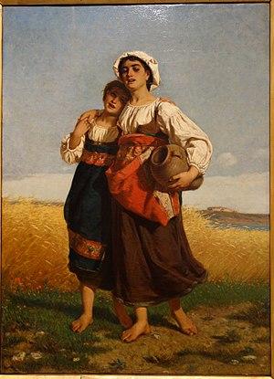 Luigi Bechi - Spring of Life by Luigi Bechi, 1864