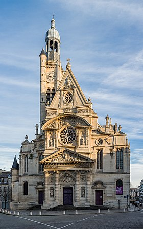 Image illustrative de l'article Église Saint-Étienne-du-Mont de Paris