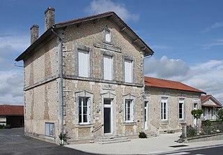 Part of Montmoreau in Nouvelle-Aquitaine, France