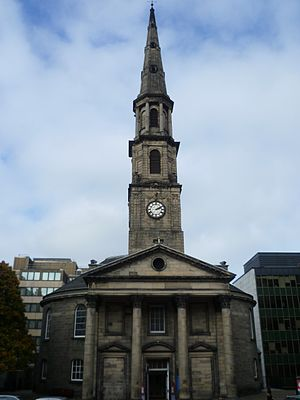 Thomas Chalmers - St. Andrew's Church, Edinburgh, scene of the Disruption