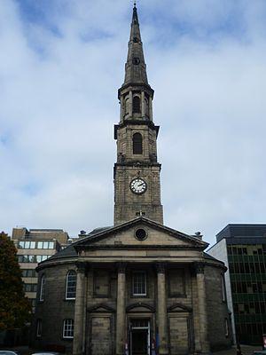 Thomas Chalmers - St. Andrew's Church, Edinburgh, scene of the Disruption