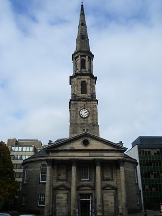 Disruption of 1843 - St Andrew's Church, Edinburgh, scene of the Disruption