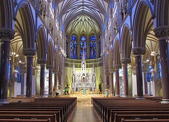 St. Francis Xavier College Church - Interior of the church.