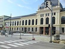 St. Poelten Hauptbahnhof Umbau Juli 2010 1.JPG