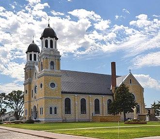 Damar, Kansas - St. Joseph Catholic Church (2012)