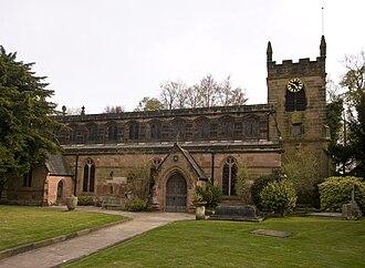 St Bartholomew's Church, Edgbaston - Image: St Bartholomew Edgbaston