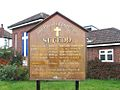 St Cedd, Marston Road, Ilford - Notice board - geograph.org.uk - 1723643.jpg
