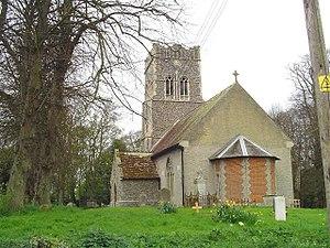Falkenham - St Ethelbert's church