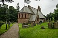 St Hilary Church west side Erbistock.jpg