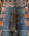 St Mary's Church, Stapleford Tawney, Essex, England ~ Luther floor ledger slab 03.jpg
