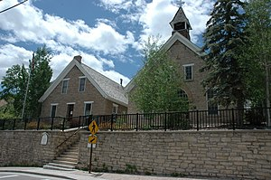 St. Mary of the Assumption Church and School - Image: St Mary Church Park City Utah