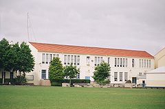 St Peter's College, Auckland; Bro O'Driscoll Building.JPG