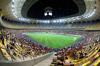 Gerkan, Marg and Partners - Arena Națională, Bucharest, Romania, opened 2011