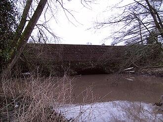 River Stour, Worcestershire - Image: Staffs Worcs Stour Aqueduct