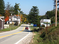 Near the intersection of Pennsylvania Route 711 and Pennsylvania Route 130 in Stahlstown, Pennsylvania