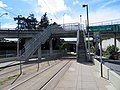 Stairs at San Jose and Glen Park station, March 2018.JPG