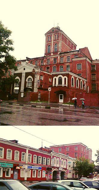 Savva Morozov - An old Morozov factory building in Zuyevo along ulitsa Lenina