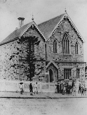 History of state education in Queensland - Brisbane Normal School, circa 1885