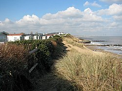 Static caravans on the clifftop in Hopton-on-Sea - geograph.org.uk - 1717968.jpg