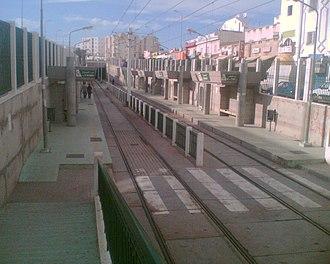 El Mourouj - Image: Station metro tunis