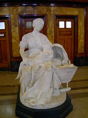 Statue - mairie de Lille