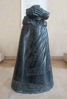 Statue de Manishtusu - Sb 47 - Antiquités orientales du Louvre.jpg
