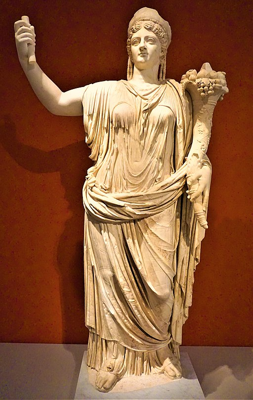 Statue of Deified Empress Livia