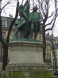 Statue of Washington and Lafayette, Paris.jpg