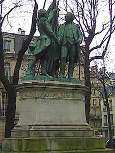 Statue of Washington and Lafayette, Paris.jpg