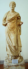 Statue of the priestess Aristonoe