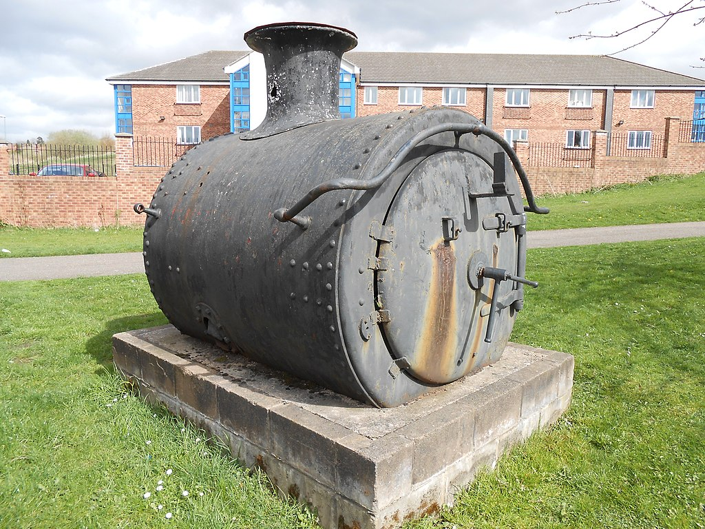 File Steam Locomotive Smokebox  Burslem Jpg