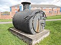 Steam locomotive Smokebox, Burslem.jpg
