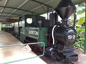 Yandina, Queensland - Steam train at The Ginger Factory