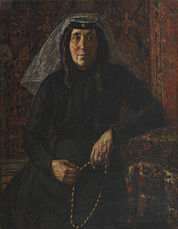 Stephan Aghajanyan. Portrait of Mother, 1900.jpg