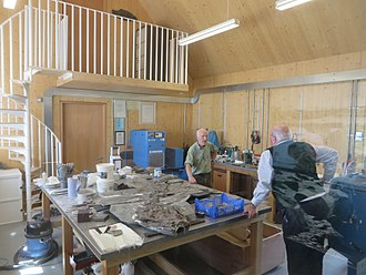 The Etches Collection - The founder Steve Etches in the workshop at The Etches Collection
