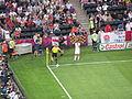 Steven Gerrard serves corner.JPG