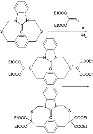 Stevens rearrangement - Stevens rearrangement application