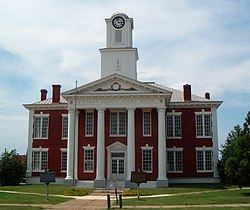 Stewart County Courthouse in Lumpkin, GA