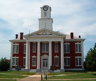 Stewart County, Georgia - Image: Stewart County Courthouse in Lumpkin, Georgia, USA, July 2008